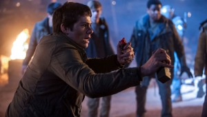 "Dylan O'Brien is prepared to immolate himself in ""Maze Runner: The Scorch Trials."""
