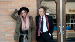"Amber Heard and Christopher Walken star in ""When I Live My Life Over Again,"" or ""One More Time."""