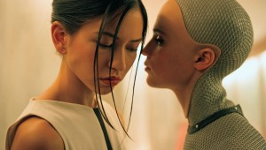 """Ex Machina"" is one of the year's most striking movie debuts."
