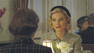 Cate Blanchett pursues love in a homophobic time in Carol.
