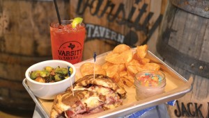 There's not a deli in Fort Worth that makes a better Reuben than Varsity Tavern. Photo by Lee Chastain.