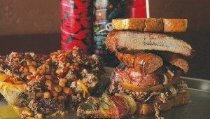 The Sadie and the Jambo Texan sandwich are two of the Arlington eatery's signature dishes.  Photo by Lee Chastain.