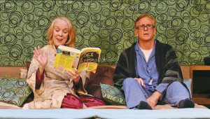 Wendy Welch and Bob Hess plumb the mysteries of this book and their marriage in Stage West's Sexy Laundry.