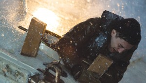 John Magaro hangs on for dear life amid choppy waters in The Finest Hours.
