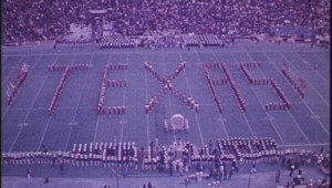 The 1973 Cotton Bowl halftime show is among the artifacts held by Texas Archive of the Moving Image.