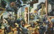 """Hollywood"" is one of the pieces in American Epics: Thomas Hart Benton and Hollywood at the Amon Carter Museum."