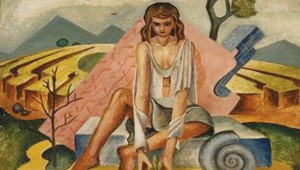 "Carl Benton Compton's ""Woman With Nautilus"""
