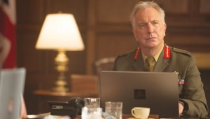 Alan Rickman makes his last screen appearance in Eye in the Sky.