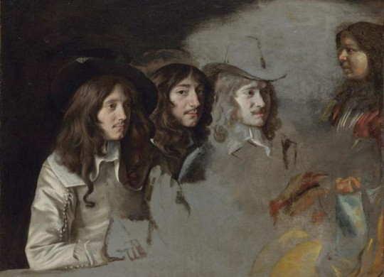 "The Le Nain brothers' ""Three Men and a Boy"" is part of the Kimbell's new exhibit."
