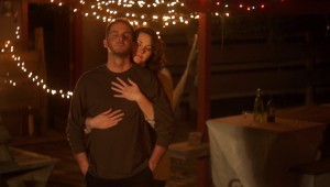 "Nikki Lee Hinson and Michael Gans in the trailer for ""The Intangible Truth of Chance Malloy."""