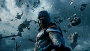"Michael Fassbender makes the metal fly in ""X-Men: Apocalypse."""