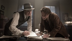 "Colin Firth and Jude Law toil over a big novel in ""Genius."""