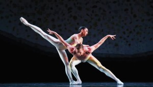 Alexandra Farber and Jiyan Dai danced the pas de deux with beautiful, gentle lines.