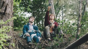 Daniel Radcliffe is dead while Paul Dano looks for phone service in Swiss Army Man.