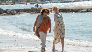 Jennifer Saunders and Joanna Lumley live it up as fugitives on the Riviera in Absolutely Fabulous: The Movie.