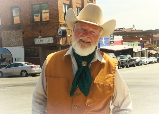 Red Steagall will host an upcoming documentary on the Stockyards. Photo by Joel Walters.