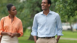 Tika Sumpter and Parker Sawyers are a golden couple in the making in Southside With You.