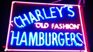 charley's old fashioned sign
