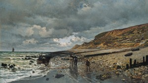 """The Pointe de Héve at Low Tide"""