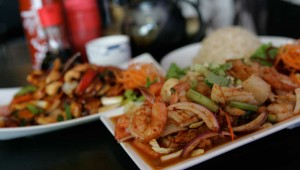Tuk Tuk Thai serves big portions and big flavors. Photo by Lee Chastain.
