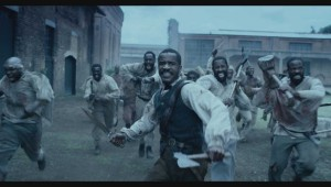 "Nat Parker leads his slaves in a bid for freedom in ""The Birth of a Nation."""