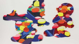 "KAWS' ""Pass the Blame"" is part of the Modern's new show."