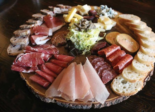 The selection of charcuteries are the draw at Grapevine's Great Scott. Photo by Kayla Stigall.