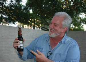 Associate Editor Jeff Prince has been overcoming his distaste for beer for 40 Years. Photo by Billie Jeanne Walker.