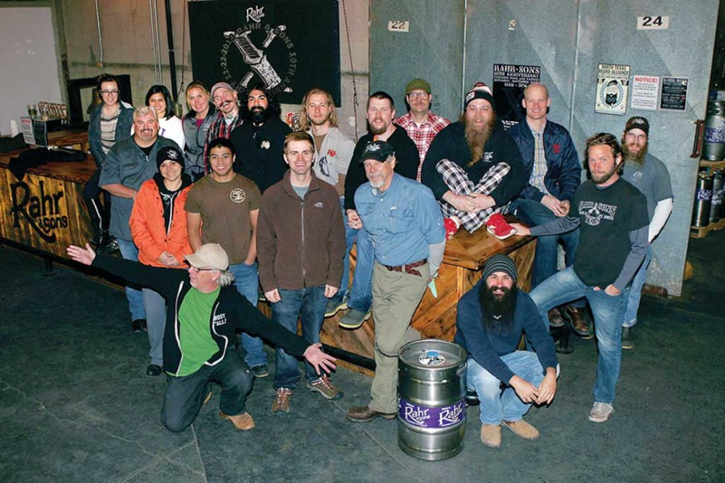 Rahr & Sons recently celebrated its 12th anniversary. Photo by Lee Chastain.
