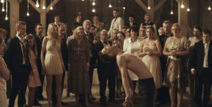 "Itay Tiran causes a scene at his own wedding in ""Demon."""