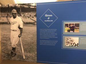 Jackie Robinson at Chasing Dreams: Baseball and Becoming American