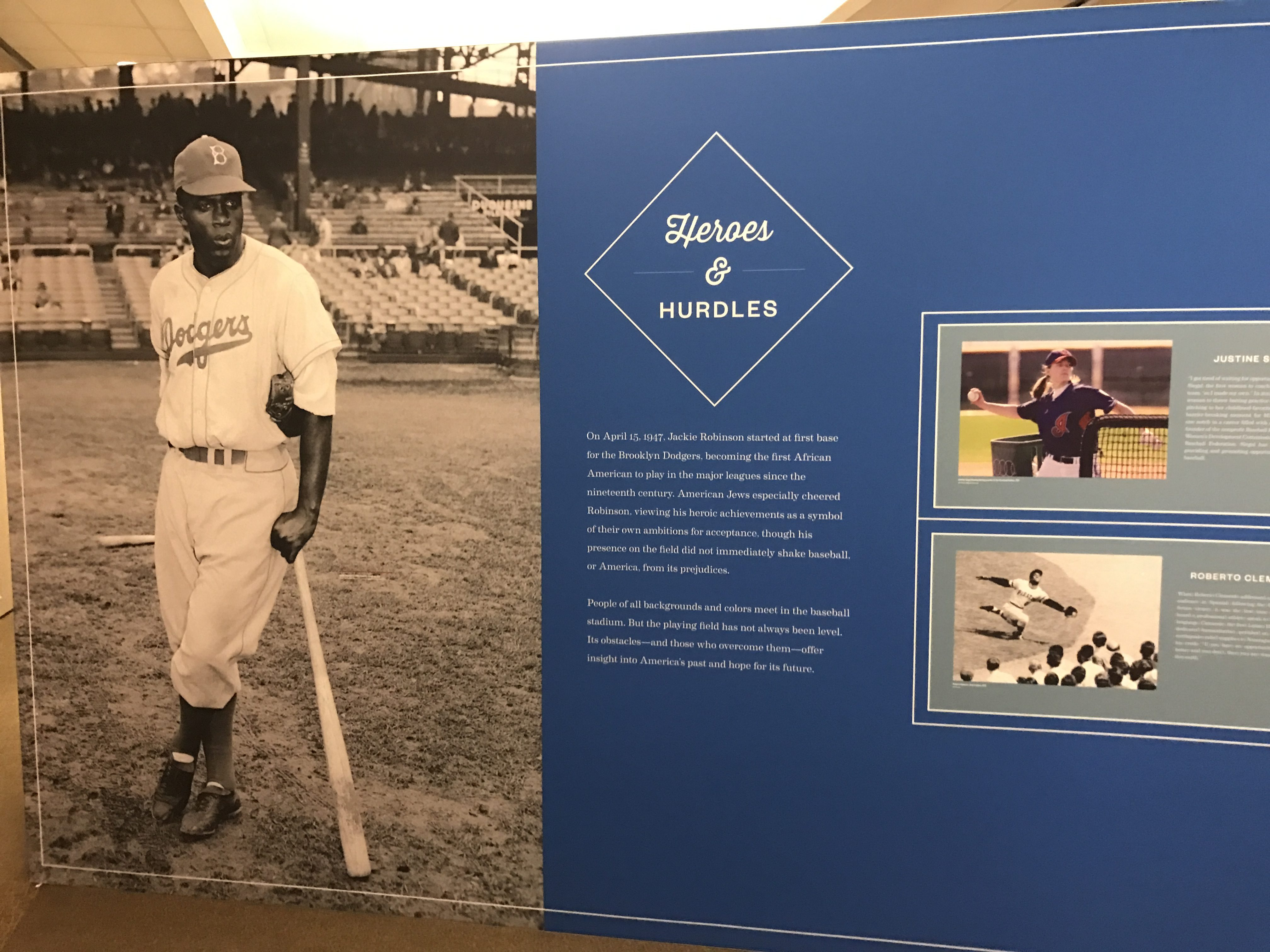 jackie robinson s life struggles and overcoming adversity As americans readjusted to life after returning from world war ii,  in burns's  documentary, rachel robinson, jackie's widow, recounts the ordeal the  as  one man who triumphed over adversity—a lone trailblazer who broke  part and  parcel of the nation's broader struggle for civil rights and social justice.