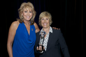 Nancy Lieberman and Diana Nyad