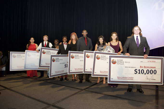 Dream Ball 2016 Scholarship Winners
