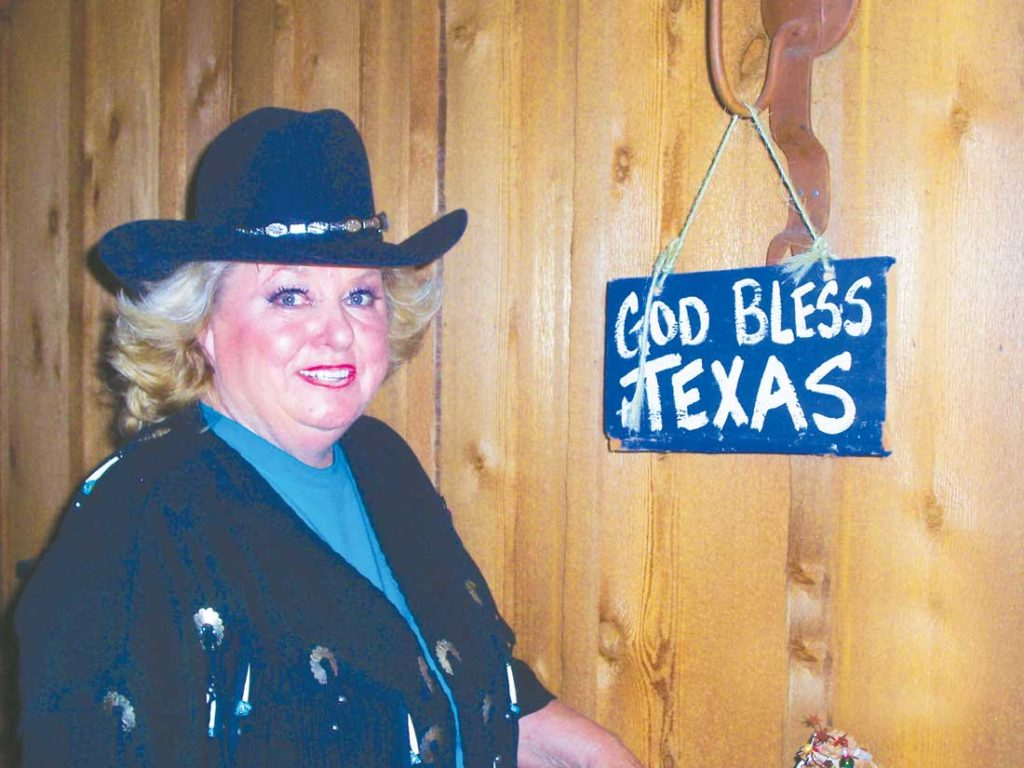 Texarkana native Arnold was a tireless promoter of the Lone Star State. Photo by Jeff Prince.