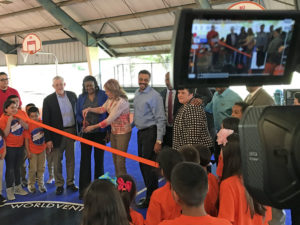 Dream Court Ribbon Cutting