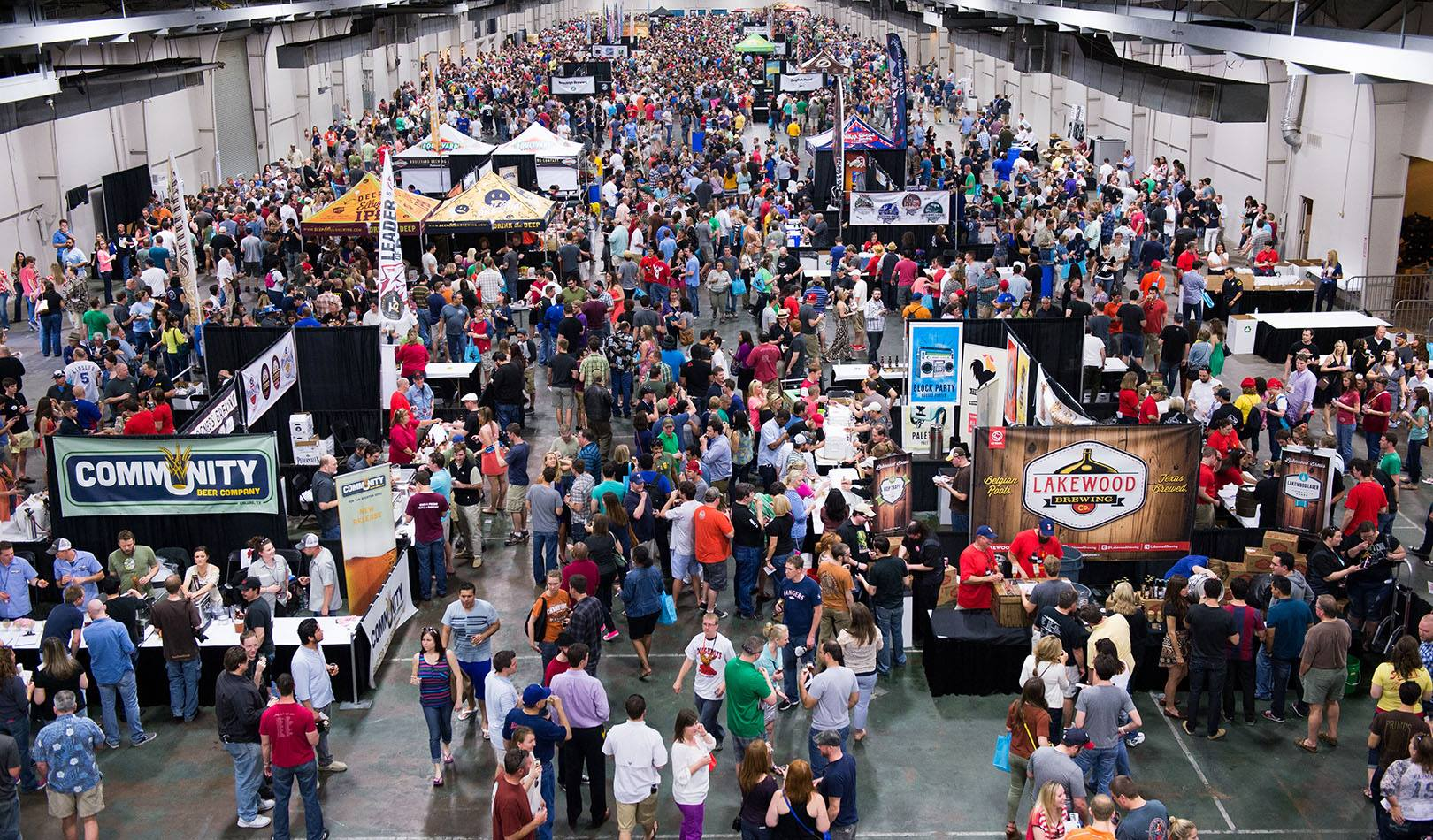 On tap in fort worth spring beer events fort worth weekly for Michigan craft beer festival