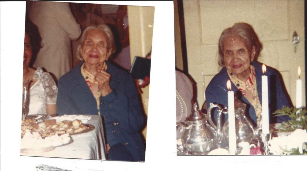 Huckaby's Grandma Mamie Frances died in 1986 at the age of 97 but not without leaving an impressive educational legacy behind her.