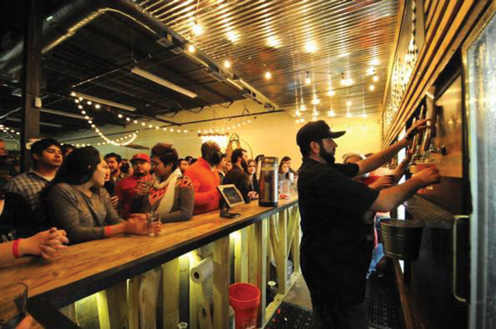 It's always a party at Panther Island Brewing Company, our critic's pick for best taproom tour. Courtesy Fortworth.com