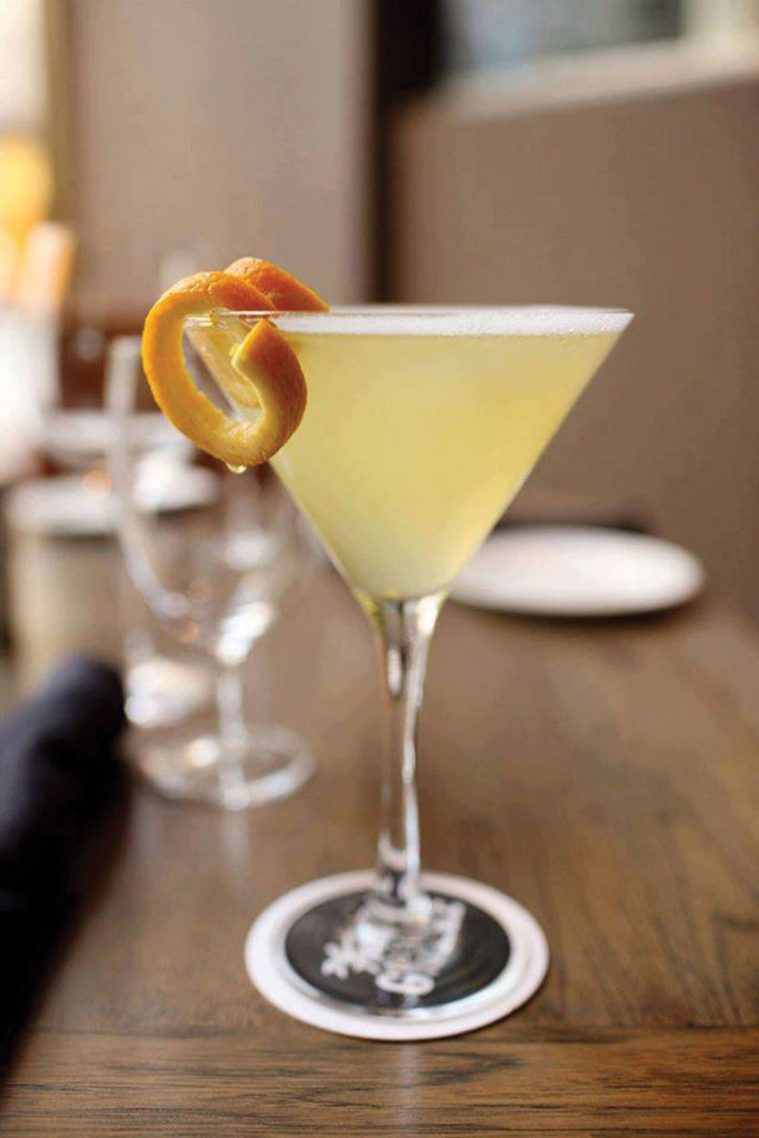 The martini at Del Frisco's Grille is simply the best, according to our critic. Courtesy Facebook.