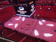 Little Caesars Arena in Detroit
