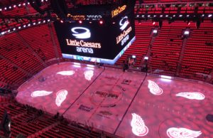 Little Caesars Arena in Detroit
