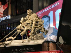 Alex Delvecchio Statue