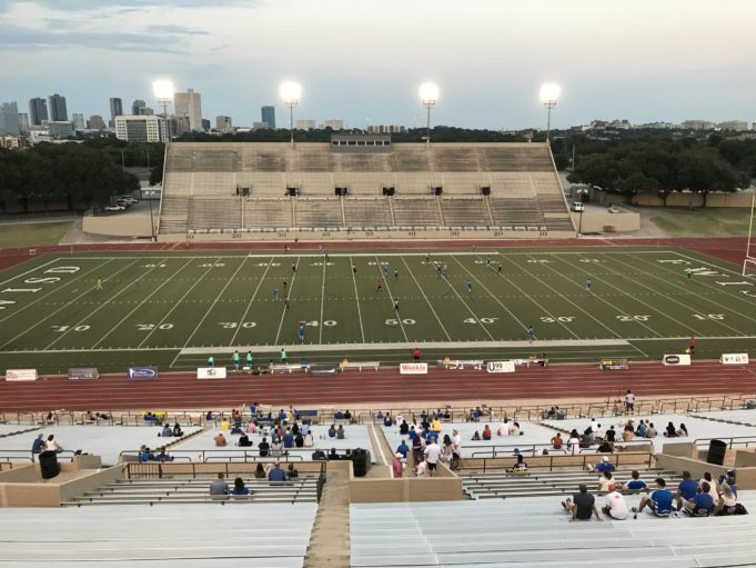 Fort Worth Vaqueros vs. Brownsville at Farrington Field