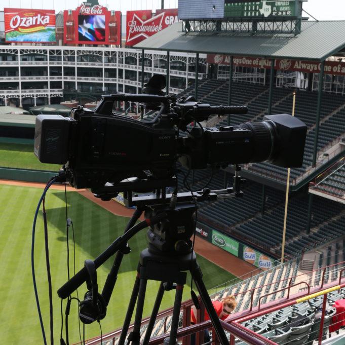 Camera at Globe Life Park