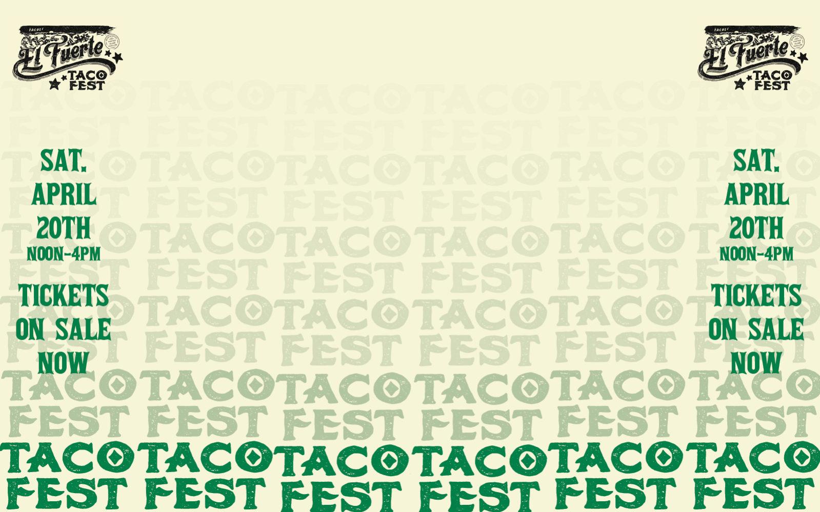 FW Taco Fest 1600x100
