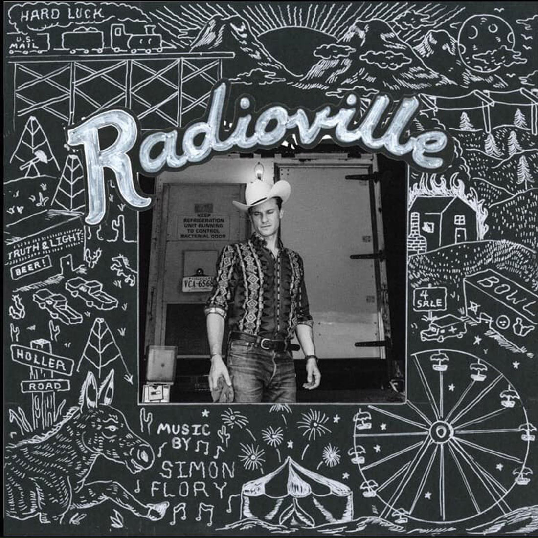 Radioville, Simon Flory (Self-released) - Fort Worth Weekly