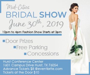 Mid Cities Bridal Show 300x250