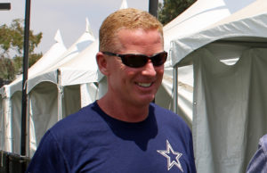 Jason Garrett at Cowboys Training Camp 2017