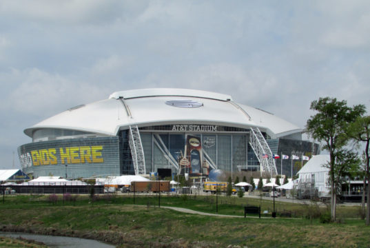 AT&T Stadium Hosts The 2014 Final Four